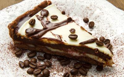 Torta Gelada de Café com Chocolate